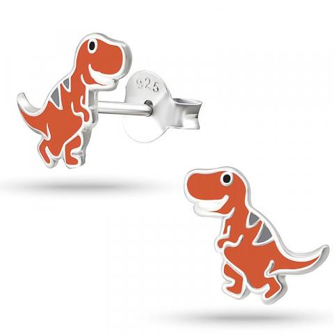 Hienot dinosaurus hopeakorvakorut  hopea