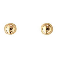 3 mm Aagaard kuula korvarenkaat  14 karaatin kultaa