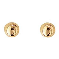 4 mm Aagaard korvarenkaat  14 karaatin kultaa
