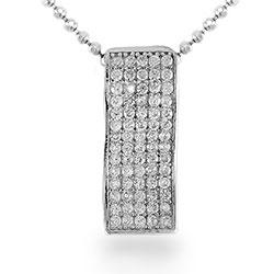 Neliskulmainen valkoinen zirkoni riipus  hopeaa