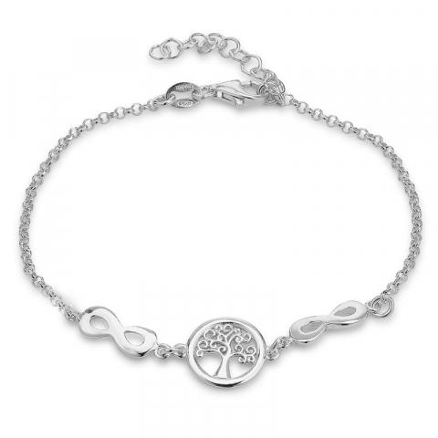elämänpuu rannekoru rodinoitua hopeaa riipus rodinoitua hopeaa