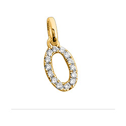 Hieno ovaali timanttiriipus 14 karaatti kultaa 0,12 ct