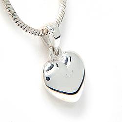 Sydän riipus  hopeaa